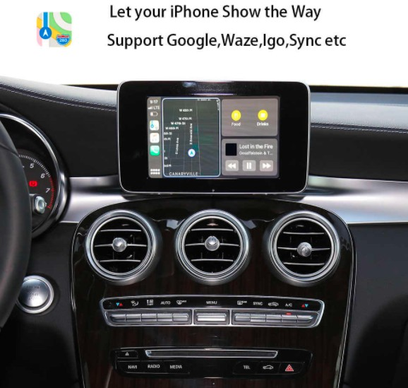Ezonetronics muItimedia interface smart carplay video Interface Retrofit Kit for Audi A4 A5 S5 Q5 A1 Q3 A6 Q7 MMI 3G decoder box