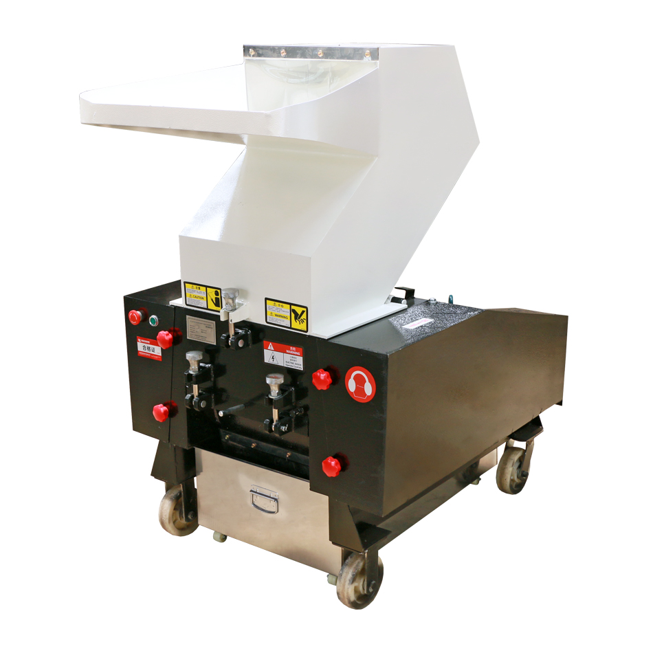 PP PVC PET Shredder Recycle Plastic Tube Cutting Pipe Machine Mini Plastic Bottle Sheet Crushing Board Machine