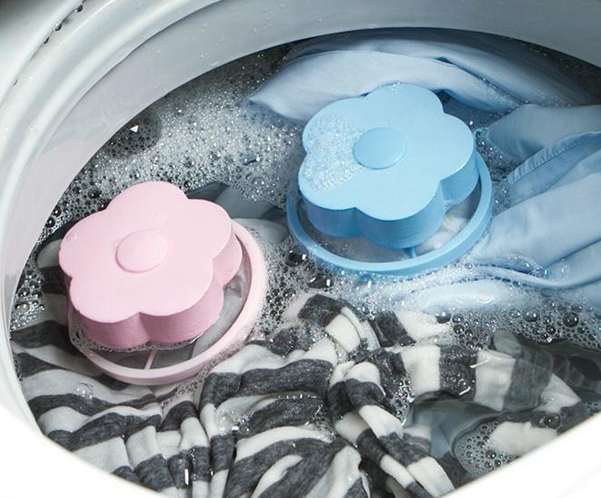 Лидер продаж, плавающий фильтр для стиральной машины в форме цветка