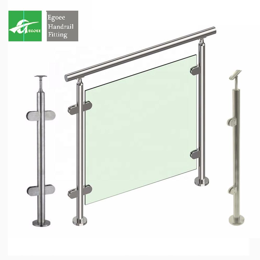 304 316l круглая/квадратная или прямоугольная верхняя труба из нержавеющей стали, балюстрады и поручни, лестничные перила
