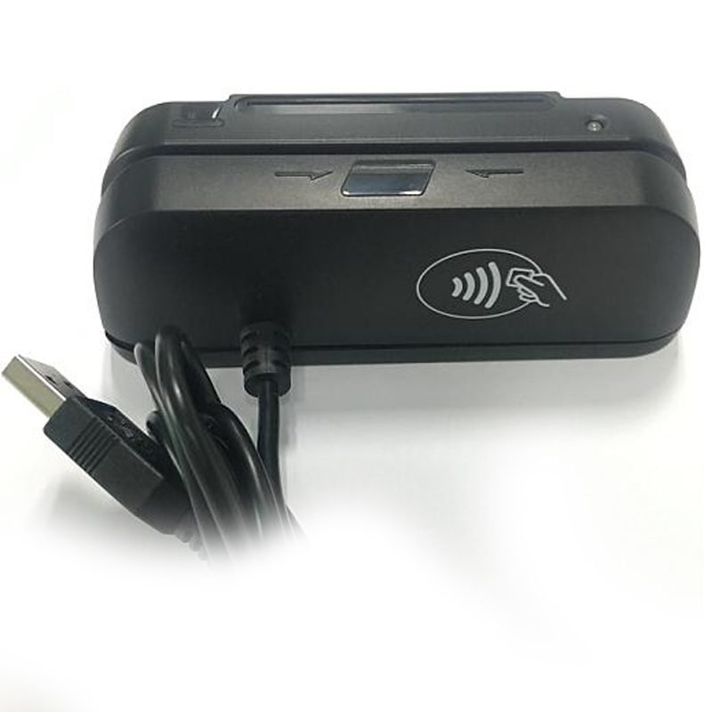 USB all-in one msr magnetic card reader 1/2/3 tracks RFID/IC card reader writer - USBSKY   USBSKY.NET