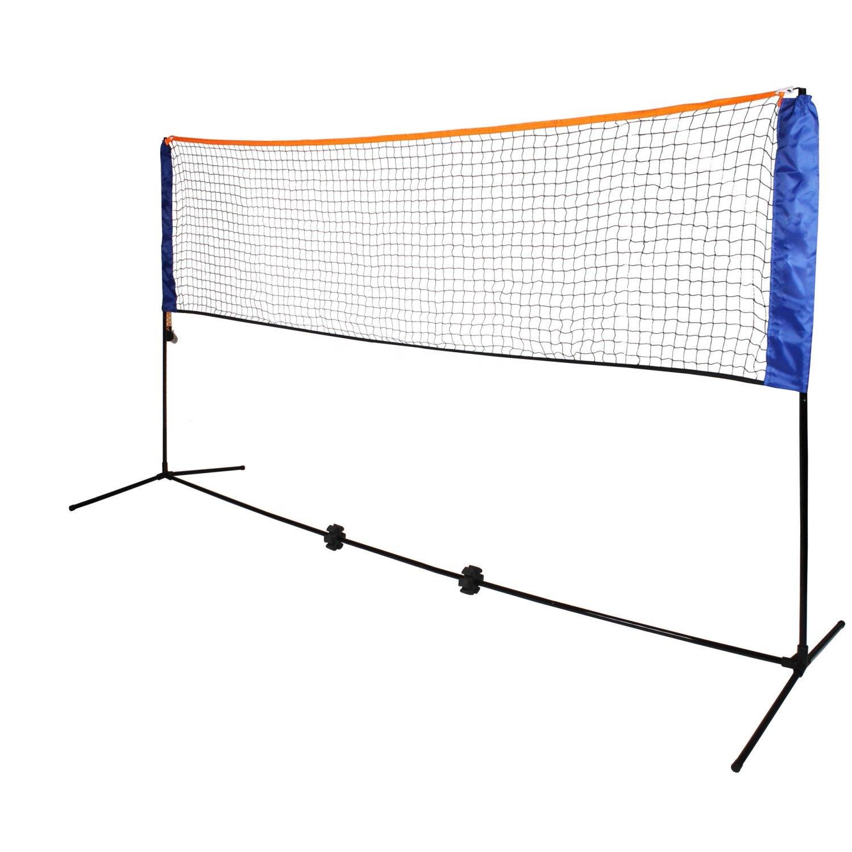 Регулируемая Складная сетка для бадминтона, тенниса, волейбола, среднего размера 4 м