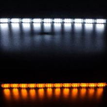 Nlpearl 2 шт., автомобильный светильник в сборе, DRL, светодиодный, дневные ходовые огни, светильник s, белый, указатель поворота, желтый, направляю...(Китай)