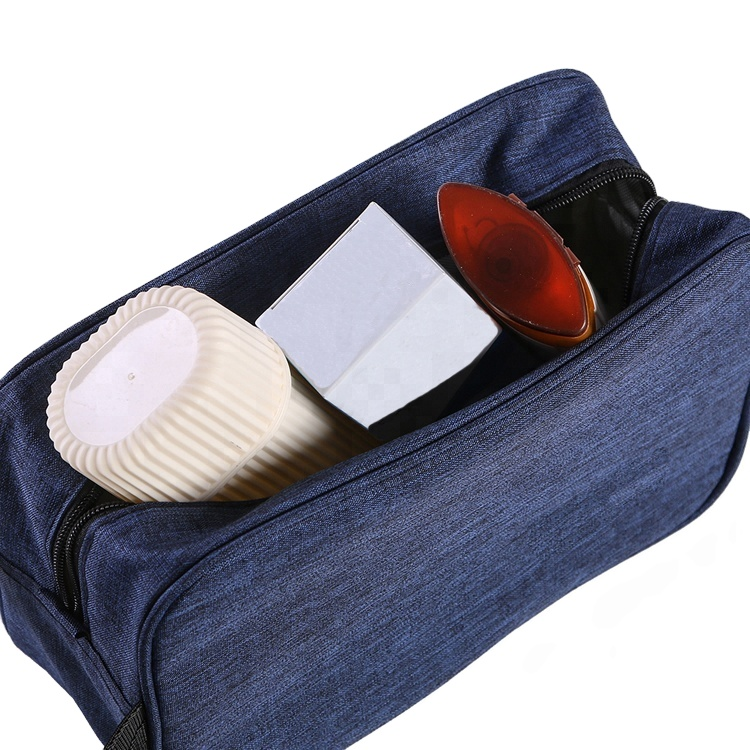 Ladies pouch bag Fashion Portable waterproof style Men Travel Shaving Toilet Kit Bag  with handle