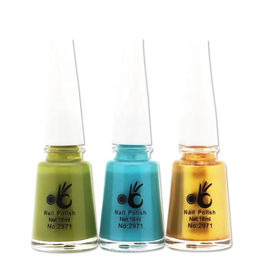 OK nail polish Christmas sale hot sale wholesale natural material long lasting nail polish free samples nail art kit.