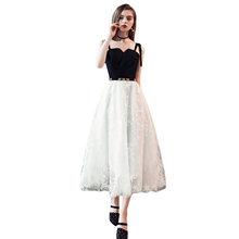 Платье для выпускного вечера es It's Yiiya R257 Милое сексуальное платье на бретельках для выпускного вечера элегантное ТРАПЕЦИЕВИДНОЕ платье дли...(Китай)