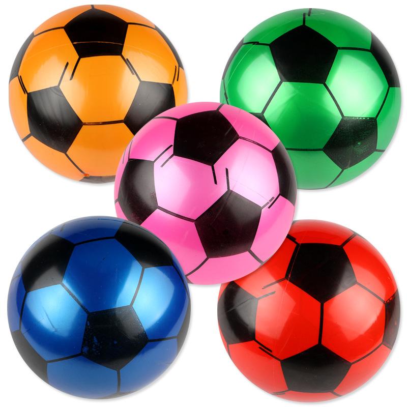 Wholesale and custom PVC bouncing ball and inflatable football beach ball