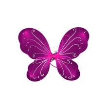 Хэллоуин Праздник праздник украшение крыло Пикси Фея Многоцветный Большой Бабочка платье костюм Красочные Крылья эльфа(Китай)