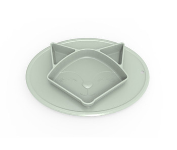 High Quality Baby Food Plate Baby Products Plate Silicone Dish Plate
