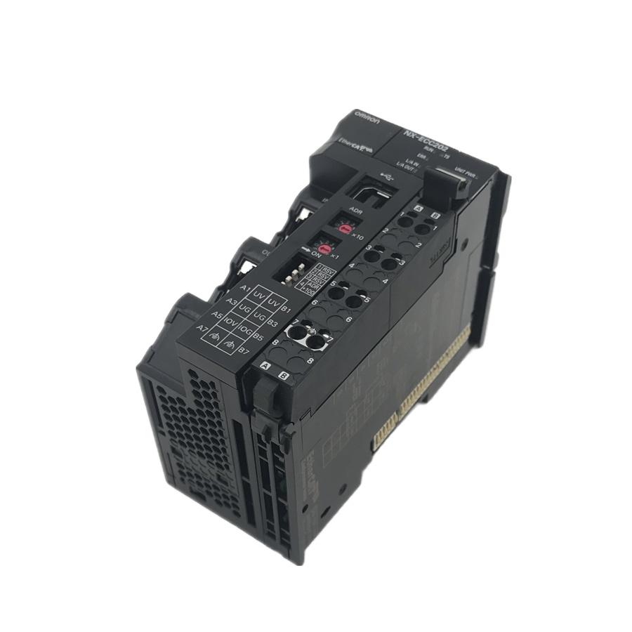 Omron NX-ECC202 PLC EtherCat Coupler Communication Unit 24VDC