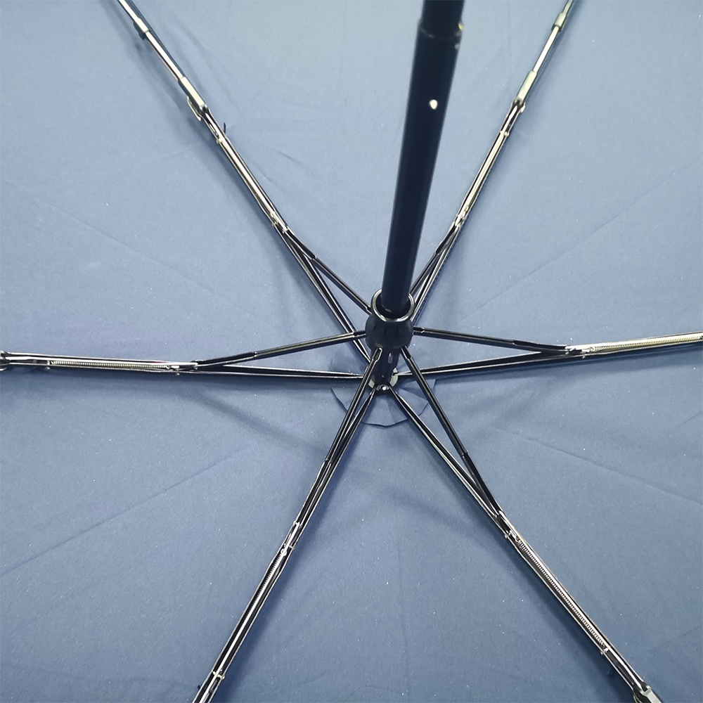 Reflective Strip Blunt Umbrella Round Corner Three-folding Umbrella with custom logo