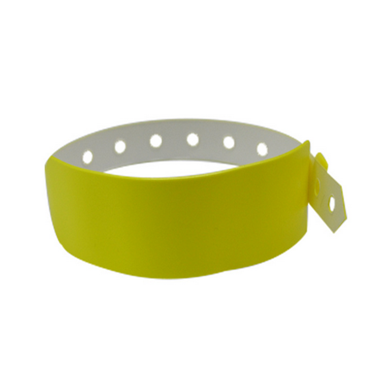 ISO14443A Disposable 13.56MHz HF NFC N-tag 213 RFID PVC Wristband