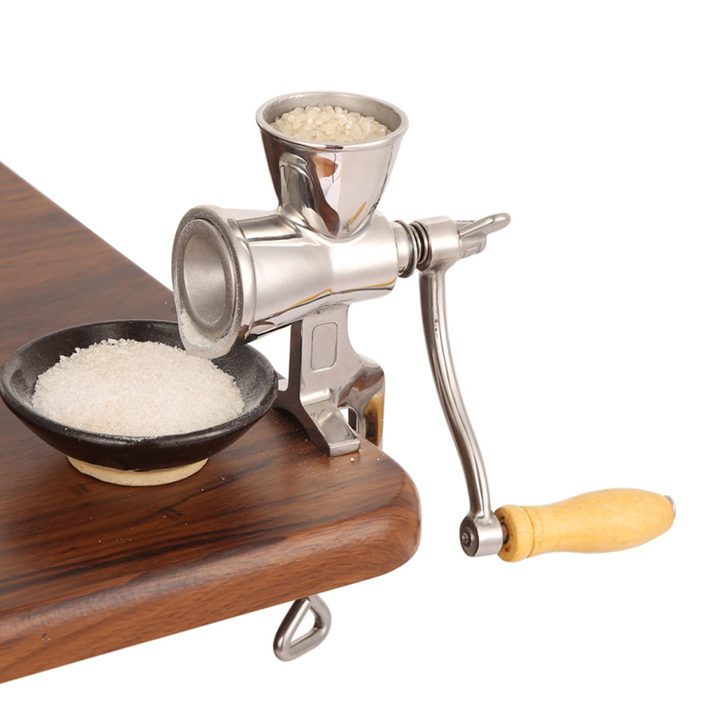 Rotating Home Kitchen Food Manual Soybeans Grain Grinder ...