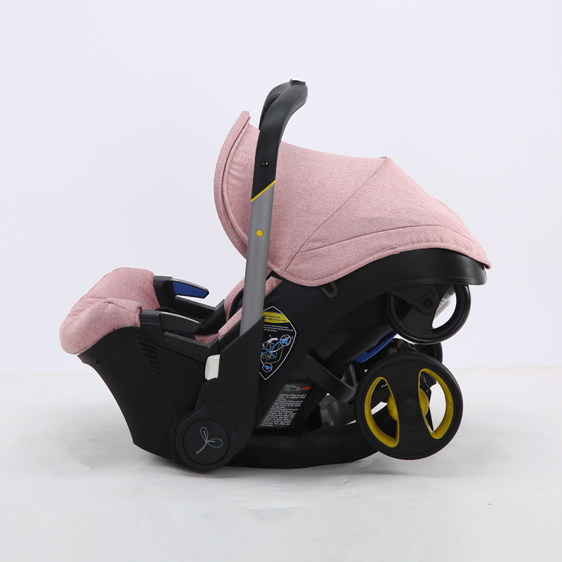 Infant Baby Car Seat Stroller 4 In 1 Newborn Baby Bassinet Cradle Type Safety Seat Carrycot Baby Carriage Basket