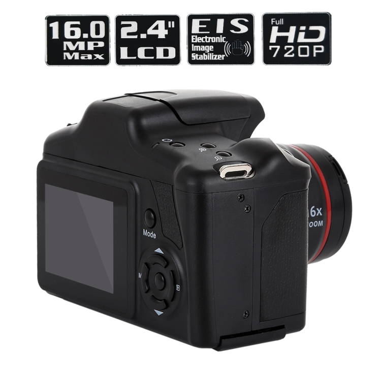 Дропшиппинг сервис 1,3 мегапикселей HD цифровая экшн-камера 2,4 дюйма ЖК-дисплей Full HD 720P записывающая DSLR-камера