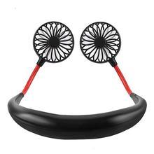 Портативный вентилятор для спорта, креативный подвесной вентилятор для шеи, переносной вентилятор для отдыха на открытом воздухе, подвесно...(Китай)