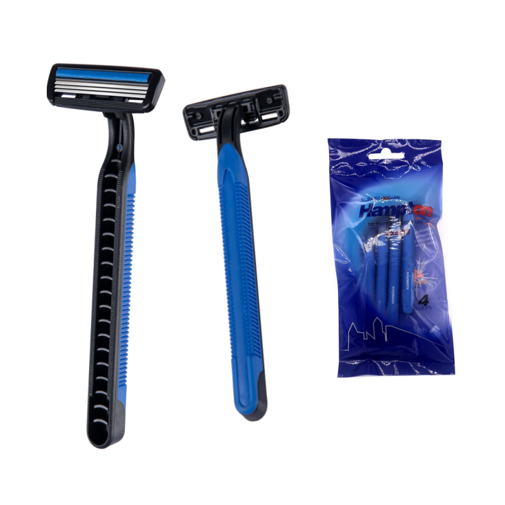 3 Blade Razor Disposable Shaving Razor Blade Stainless Steel Razor