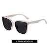 4. Glossy white/ grey