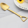 Gold pointed spoon