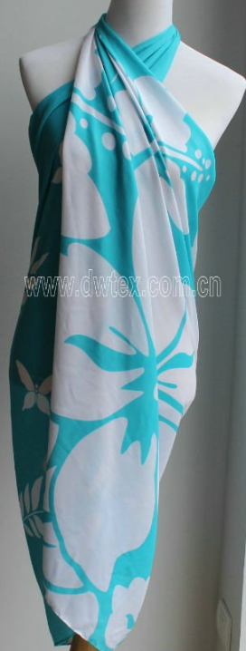 New style pacific island batik cotton beach pareo
