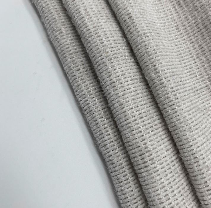 polyester chenille fabric soft textiles luxury knitted fabric for home decor and garment