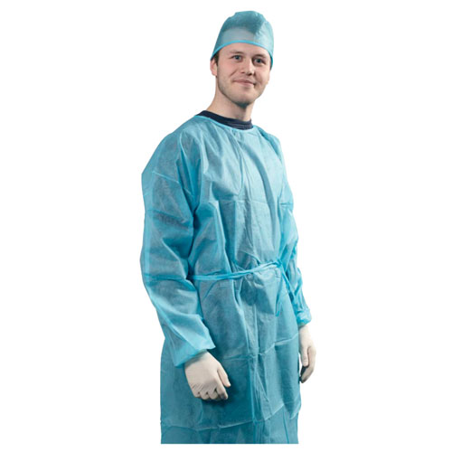 Cheap safety protective fast shipping Free Respiration Isolation Graphene Gown Anti-static AATCC 42 Level 1 - KingCare | KingCare.net
