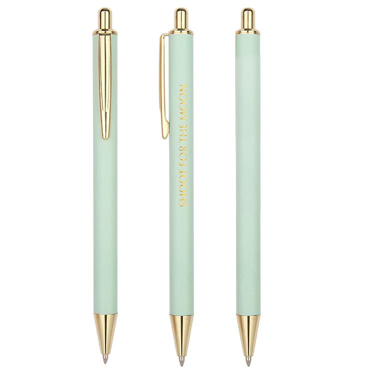 Металлические оптом изготовленным на заказ логосом пуш-ап действия с цитатами шариковые ручки Производитель