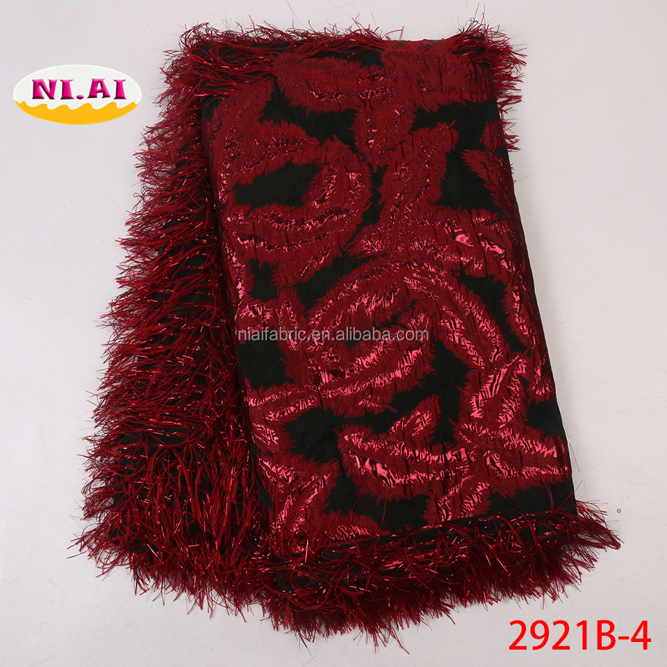 Metallic Jacquard Lace Brocade Fabric With Feather New Woven Jacquard Fabrics For African Garment Buy Silk Brocade Jacquard Fabric Satin Jacquard Brocade Fabric Indian Jacquard Brocade Fabrics Product On Alibaba Com