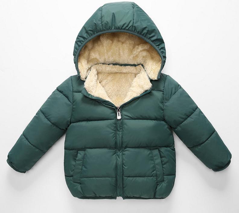 Children's hooded coat kids jacket New winter 2020