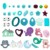 Chine Fournisseur En Gros Perles De Silicone Silicone D'hexagone Perles Rondes