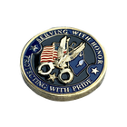 Gold Plated Coin Gold Challenge Coin Manufacturers Hot Sale Donald Trump Gold Plated Custom Metal Challenge Coin