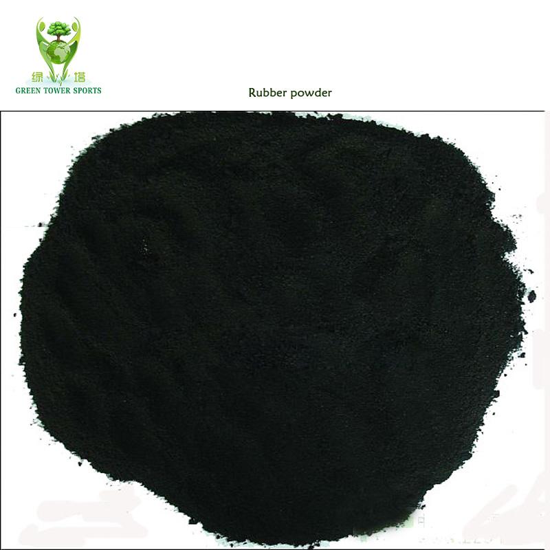 Рециркулированные резиновые гранулы SBR 2-4 мм для искусственной травы, поставка из Китая