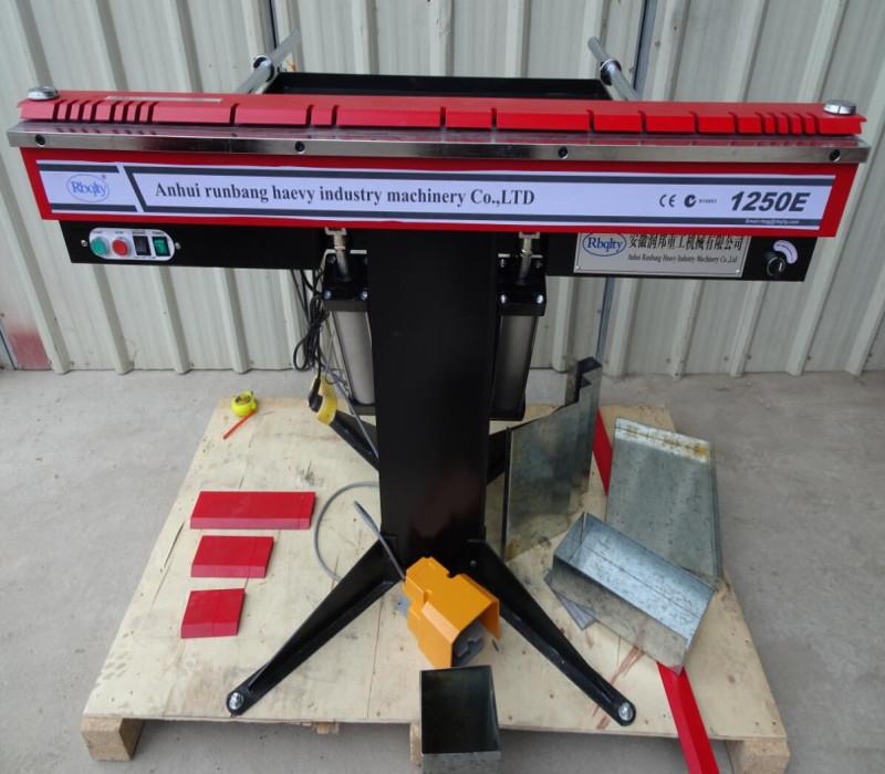 1250E Пневматический электромагнитный гибочный складной станок с ISO & CE