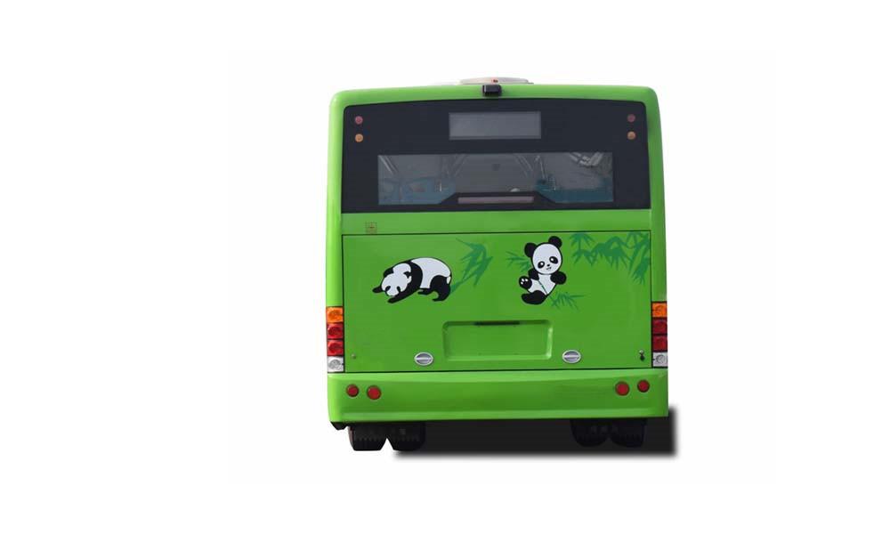 Pure electric 8.5m city tourist passenger bus for public transportation for sale