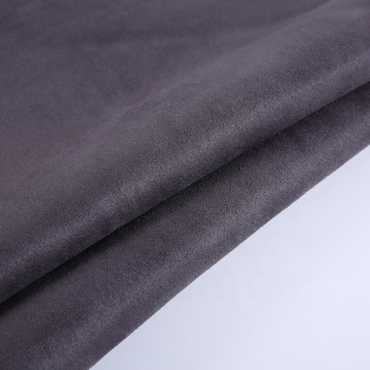 Eco-Friendly polyester quilted fur bonded quilted suede fabric for jacket