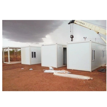 Flat Pack prefabricated modular camping mobile container houses or home building