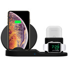 2020 New Arrival 3 in 1 Wireless Charger Stand for iphone 12 Pro Max Charger Dock Station Charger for Airpods Apple Watch Series