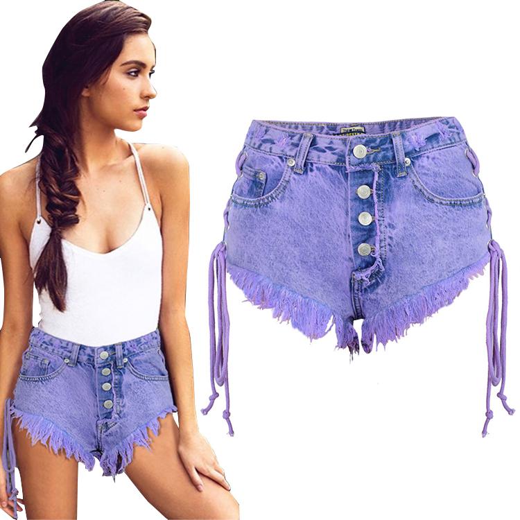 Color Purpura Pantalones Vaqueros Cortos Denim Sexy Mujeres Pantalones Cortos Ajustados Para Dama Buy Pantalones Cortos De Mezclilla De Color Purpura Pantalones Cortos De Mezclilla Para Mujer Pantalones Cortos Sexy Vaquero Estrecho Para