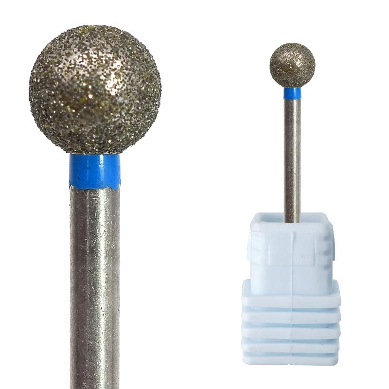 Алмазные сверла в форме звездного шара для маникюра и педикюра