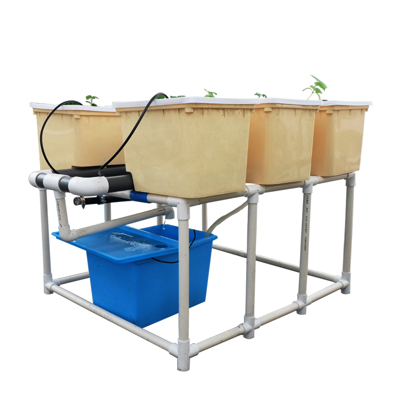 ONEONE Complete Hydroponic Dutch Bato Bucket System with irrigation systems Grow Tomatoes cucumber