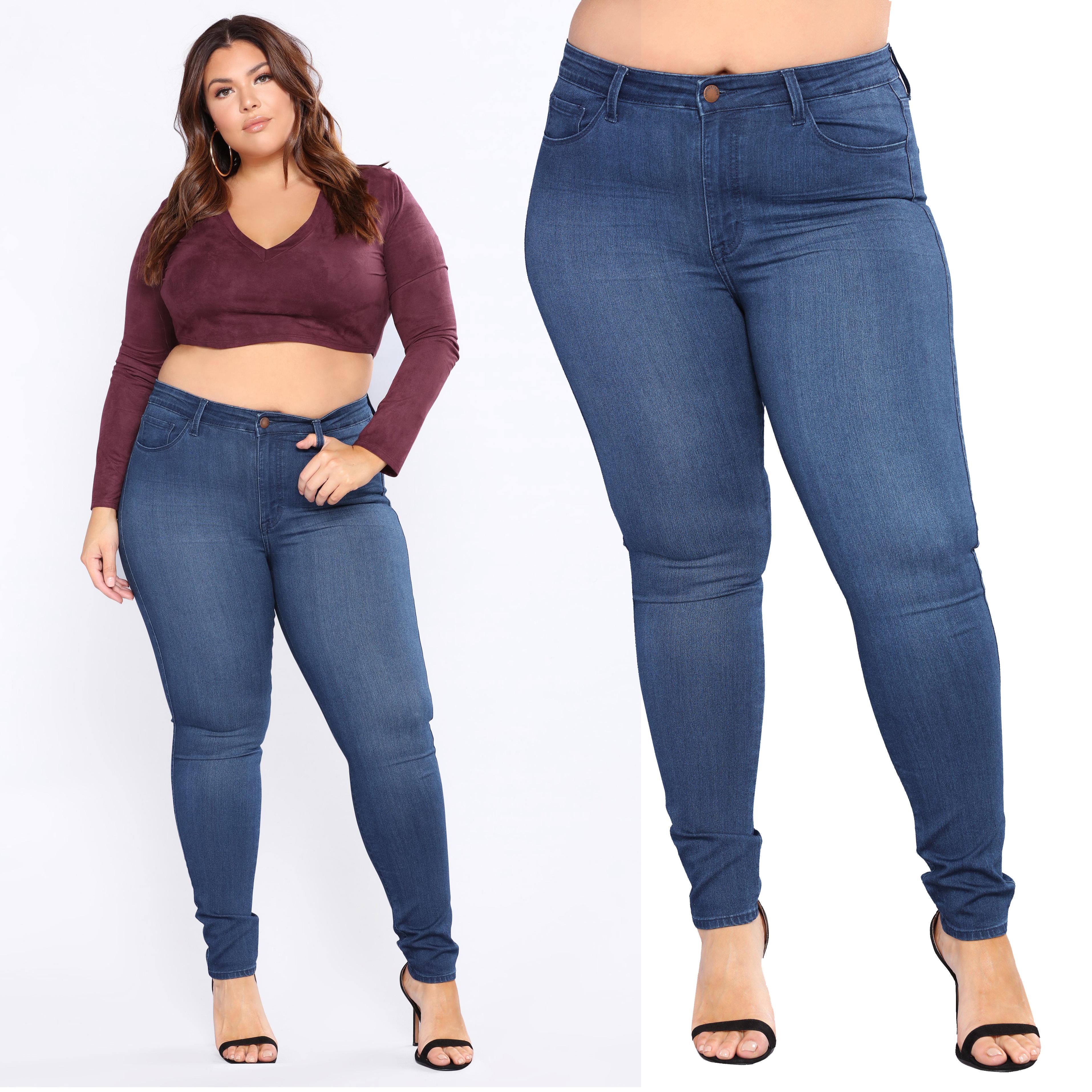 Skinny Tight Plus Size High Waist Stretch Denim Wide Sexy Hips Girls Jeans  - Buy Sexy Skinny Girls Tight Jeans,Wide Sexy Hips,Plus Size Stretch Jeans  Product on Alibaba.com