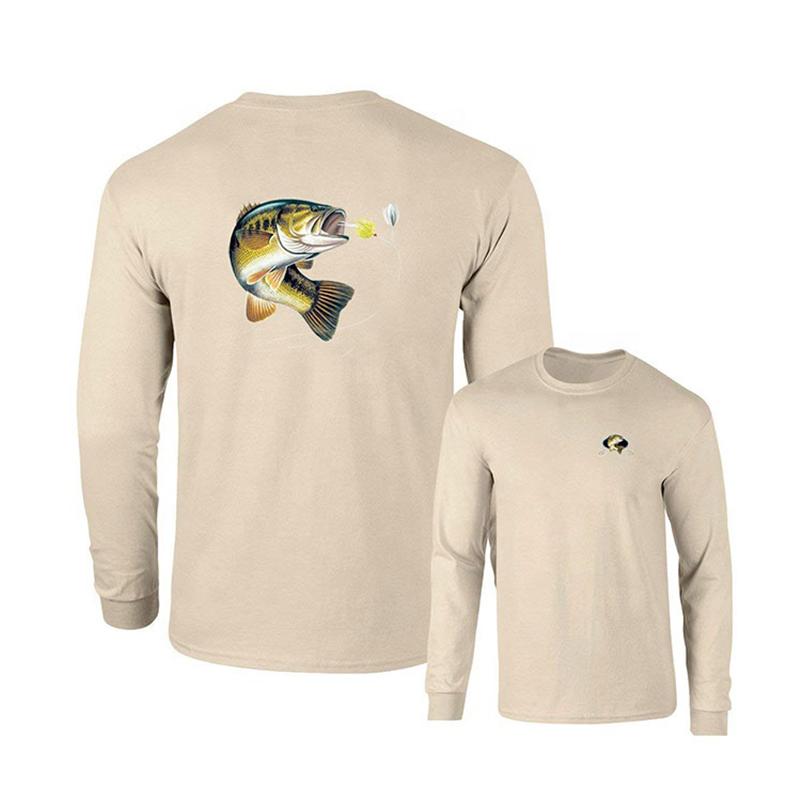 Мужская быстросохнущая рыболовная рубашка с длинным рукавом и УФ-защитой