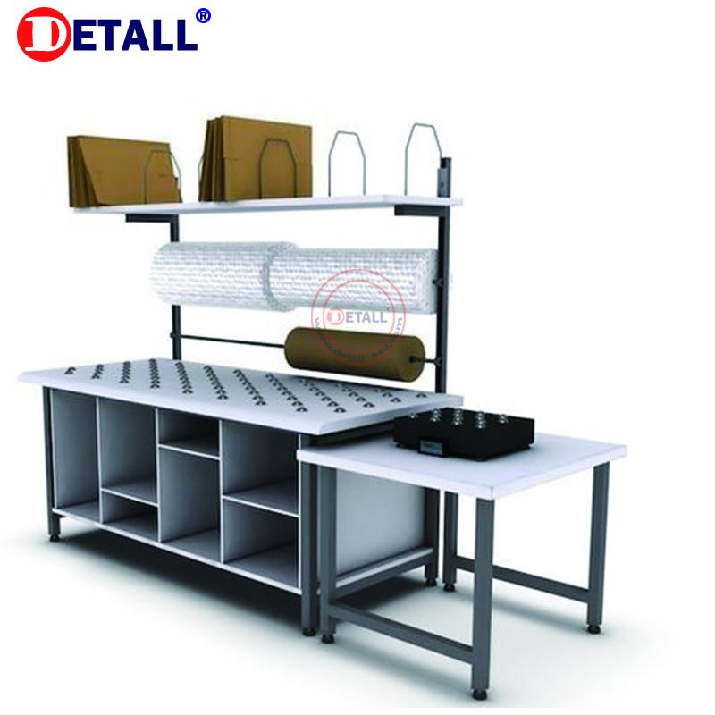 Упаковочная рабочая станция под названием завода, складской упаковочный стол, Упаковочная станция, продукция