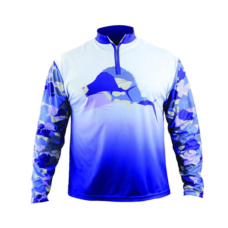 Мужская рубашка для рыбалки с сублимационной печатью spf 50 + рубашка для рыбалки