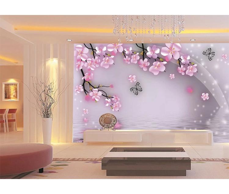 Pink Small Flower Hd Background Wallpaper 3d Flower Wall Murals For Bedroom Buy Pink Small Flower Hd Wallpaper 3d Wallpaper 3d Flower Pink Small Flower Wall Murals For Bedroom Product On Alibaba Com