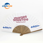 Paper Hand Fan Advertising Fan Folding Paper Hand Fan Customized Folding Paper Hand Fan With Advertising Logo
