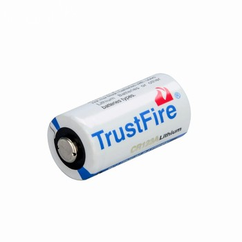 Trustfire CR123A 3.0V 1000mAh rechargeable lithium ion battery
