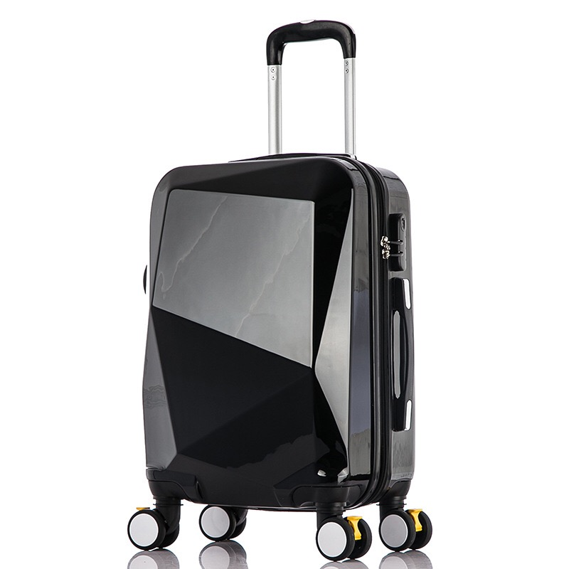 2019 Popular Waterproof 100% PC Hard Shell suitcase Customise Logo China Luggage Factory Carry-on fashion Luggage