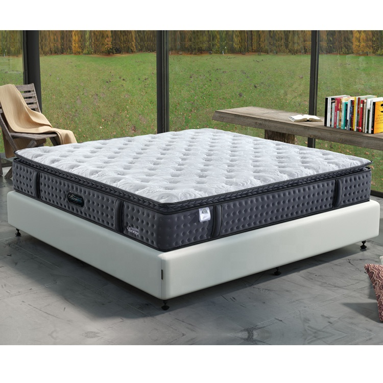 Promotion Cheap Price Extra Firm Pocket Spring Double Mattress