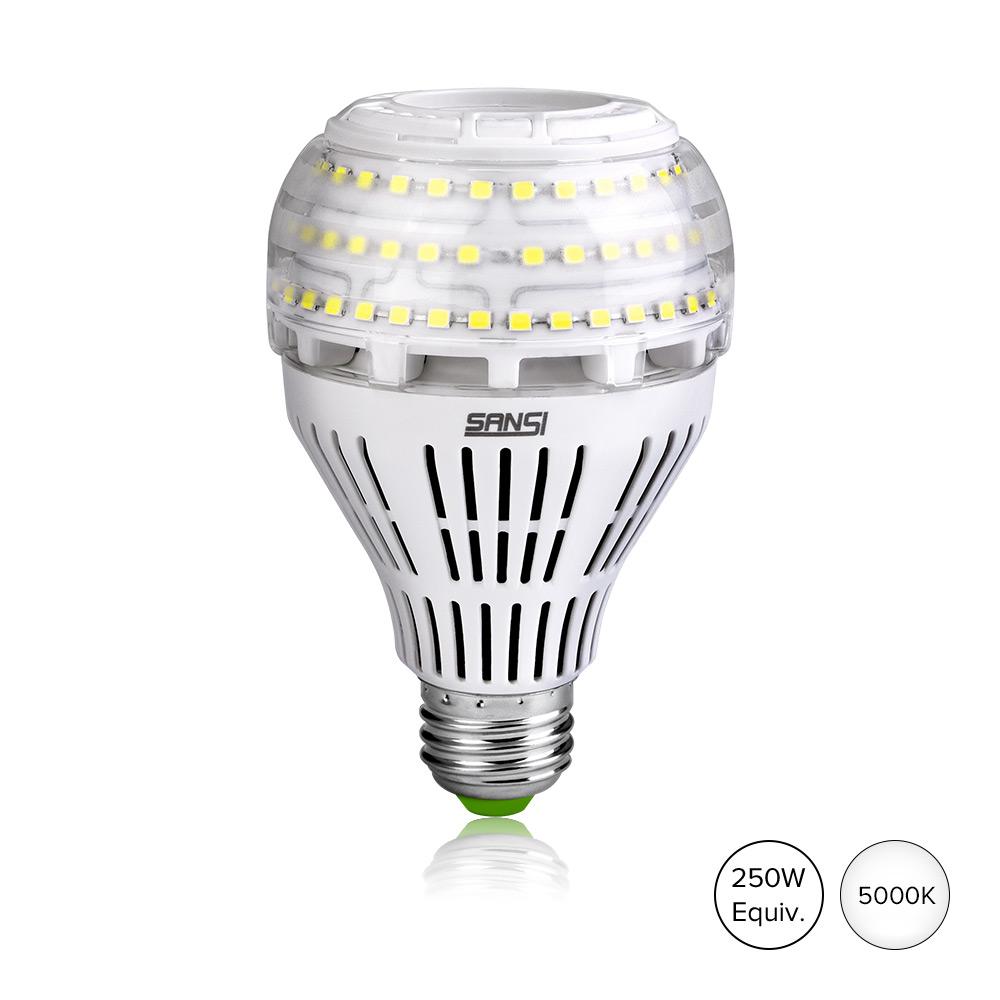 Sansi E27 E26 4000lm NOT Dimmable 27W 3000K 5000K  Ceramic  Led Bulb Light For Sanctuary and Church